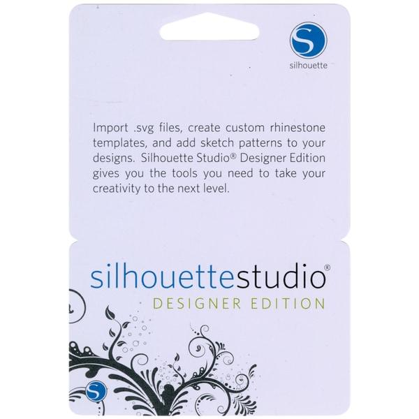 Silhouette Studio Designer Edition Upgrade Card