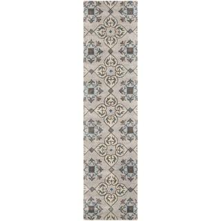 Safavieh Handmade Wyndham Beige New Zealand Wool Rug (2'3 x 9')