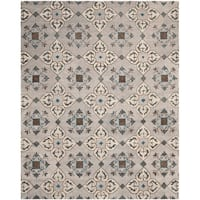 Safavieh Handmade Wyndham Beige New Zealand Wool Rug - 8' x 10'