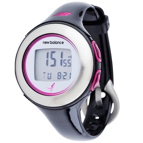 New Balance Black Heart Rate Monitor HRT Komen Watch