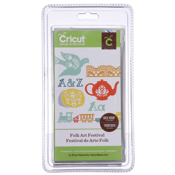 Cricut Folk Art Cartridge