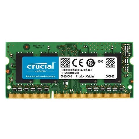 Crucial 8GB (1 x 8 GB) DDR3 SDRAM Memory Module