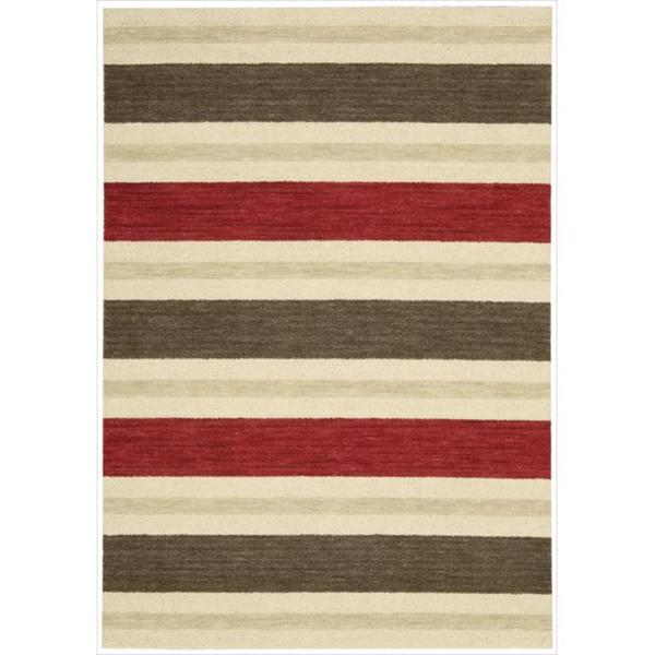 Barclay Butera Oxford Savannah Area Rug by Nourison (5'3 x 7'5) - 5'3 x 7'5
