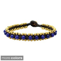 Tribal Allure Mix Stones Single Stand Bracelet (Thailand)