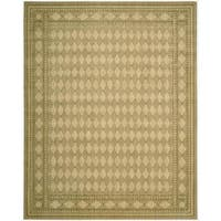Cosmopolitan Honey Diamond Print Rug - 7'6 x 9'6