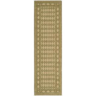 Cosmopolitan Honey Diamond Print Rug (2'3 x 8')