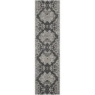 Safavieh Handmade Wyndham Grey New Zealand Wool Rug (2'3 x 9')