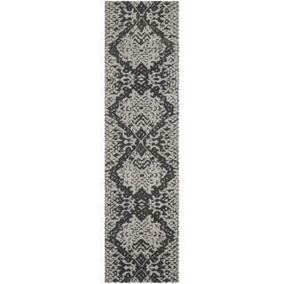 Safavieh Handmade Wyndham Grey New Zealand Wool Rug - 2'3 x 9'