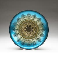 Red Pomegranate Gilded Moroccan Bowls