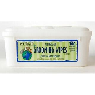 Earthbath Green Tea Pet Grooming Wipes (100-count)