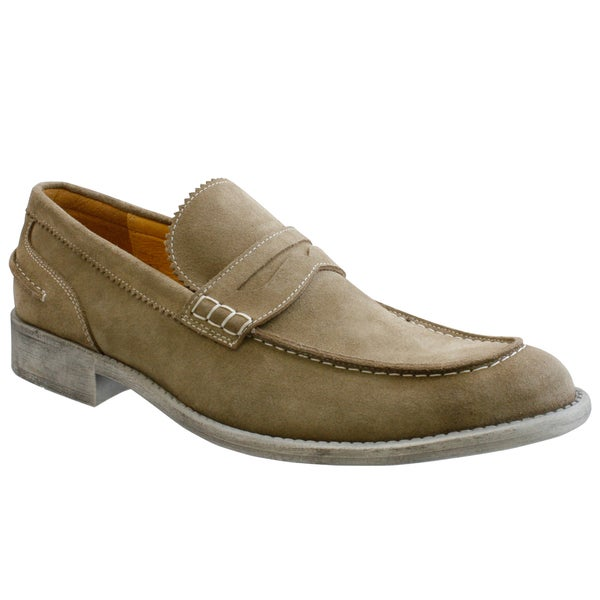 GBX Men's Suede Slip-on Loafers