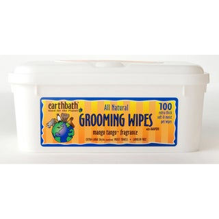Earthbath Mango Tango Pet Grooming Wipes (100ct)