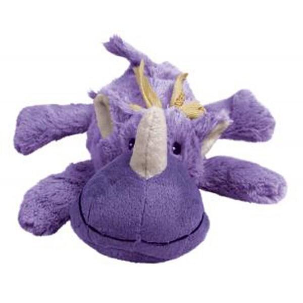 Kong Cozie Rhino Plush Pet Toy