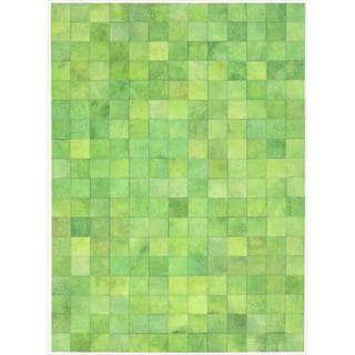 Barclay Butera Medley Lemon Grass Area Rug by Nourison (4' x 6')