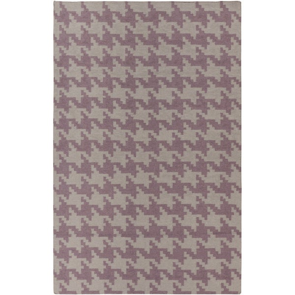 Hand-woven Airdrie Grey Wool Area Rug - 9' x 13'