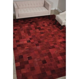 Barclay Butera Medley Scarlet Area Rug by Nourison (8' x 11')