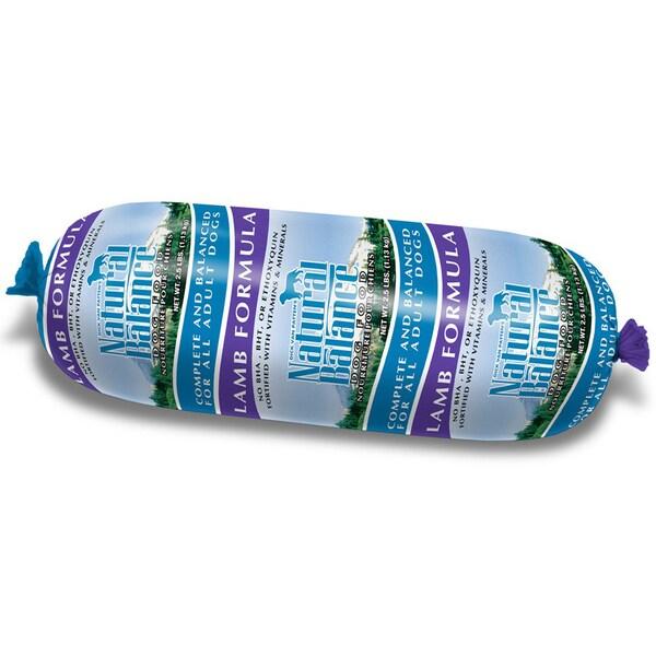 Natural Balance Lamb Formula Dog Food Roll (2.75 oz)