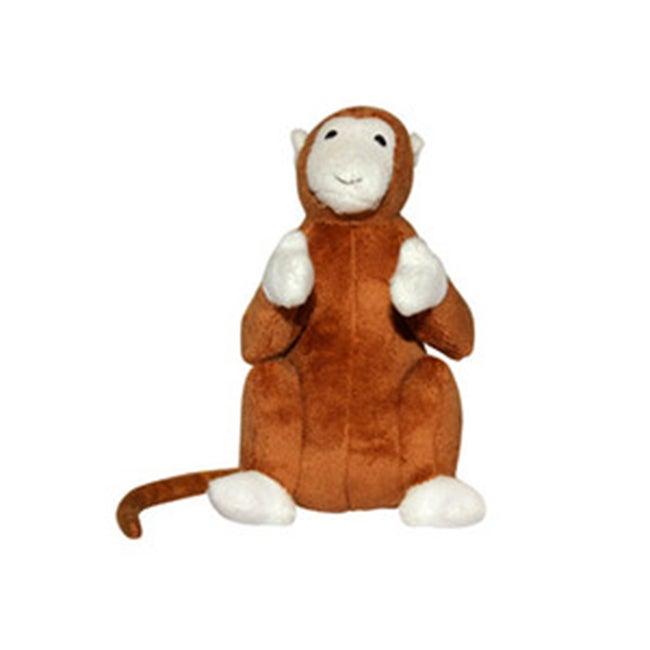 VIP Safari Monkey Dog Toy (Monkey), Brown