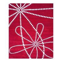 Handmade Herat Oriental Indo Tibetan Wool Rug  - 8' x 10' (India)