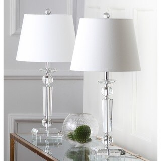 Safavieh Lighting 23-inch Imogene Crystal Table Lamp (Set of 2)