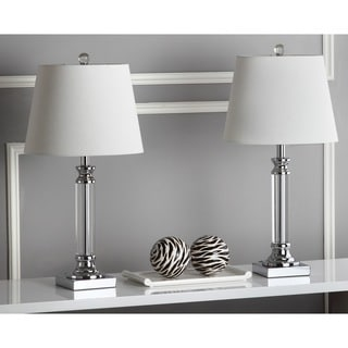 Safavieh Lighting 23.5-inch Zara Crystal Table Lamps (Set of 2)