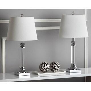 Safavieh Lighting 23.5-inch Zara Crystal Table Lamp (Set of 2)