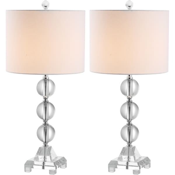 Safavieh Lighting 24-inch Fiona Crystal Table Lamps (Set of 2)