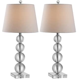 Safavieh Lighting 26.5-inch Millie Crystal Table Lamps (Set of 2)