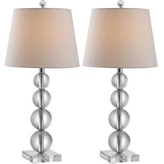 Safavieh Lighting 26.5-inch Millie Crystal Table Lamp (Set of 2)