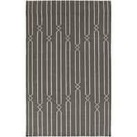 Hand-woven Lelystad Grey Wool Area Rug - 9' x 13'