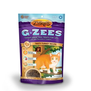 Zuke's G-Zees Turkey Cat Treats (3-ounces)