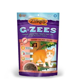 Zuke's Cat G-Zees Salmon Cat Treats (3-ounces)