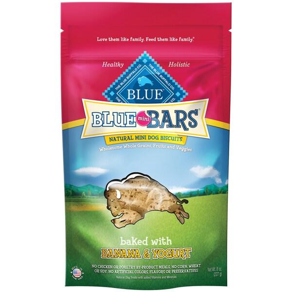 Blue Buffalo BLUE Mini Bars Banana Yogurt (8-ounce)