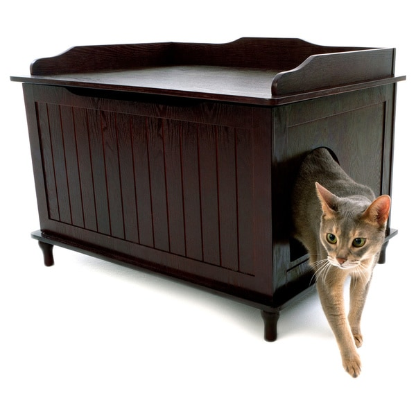 Wonderful Designer Catbox Hidden Litter Box Enclosure Furniture   Free Shipping Today    Overstock.com   15055558