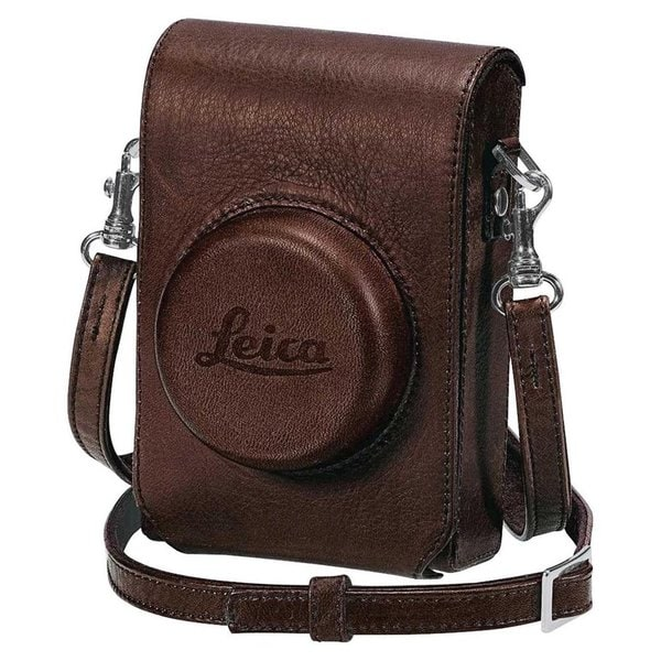 Leica 18752 D-Lux 5 Leather Case with Wrist Strap