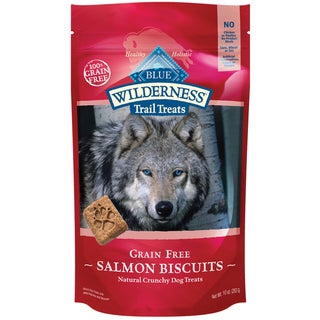 Blue Buffalo Wilderness Dog Salmon Biscuits (10 Ounces)