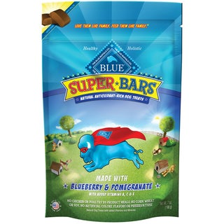 Blue Buffalo Super Blueberry Pomegranate Pet Bars