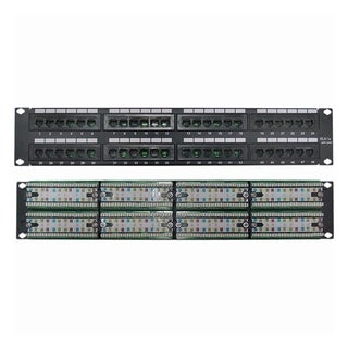 4XEM 48 Port CAT5E Rackmount Patch Panel