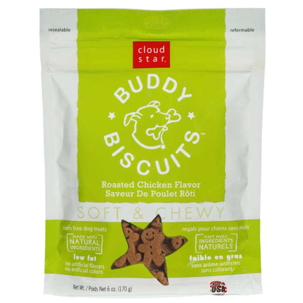 Cloud Star Buddy Biscuit Chicken Flavor