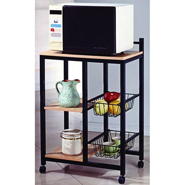 Black Kitchen Shelf