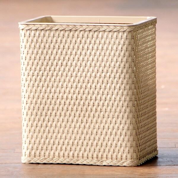 Carter Linen Rectangular Wastebasket