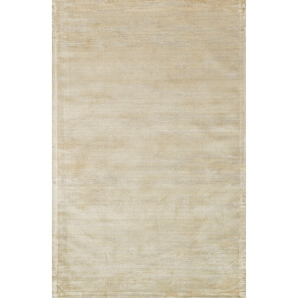 Abstract Distressed Ivory/ Beige Rug