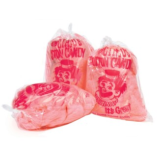 Cotton Candy Clown Imprint Bags (1000 count)