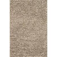 "Hand-woven Baxter Stone Shag Rug (7'6 x 9'6) - 7'6"" x 9'6"""