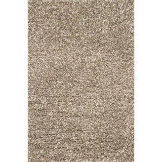 Hand-woven Baxter Stone Shag Rug (9'3 x 13)