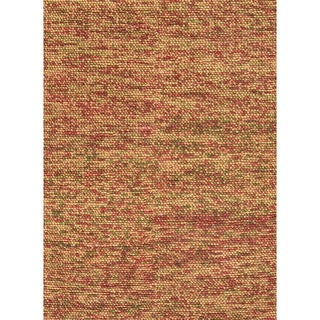 Hand-woven Avani Gold/ Rust New Zealand Wool Rug