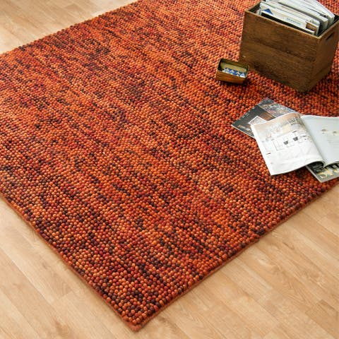 Alexander Home Avani Hand-woven New Zealand Wool Rug