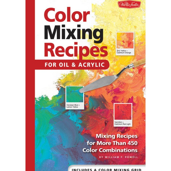 Shop Walter Foster Creative Books-Color Mixing Recipes - Free ...