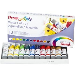 Watercolors 5ml 12/Pkg-Assorted Colors