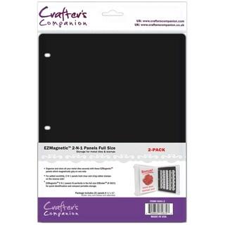 """EZMagnetic 2-N-1 Storage Panels - Full Size 2/Pkg-8.5""""X11"""" Sheets"""